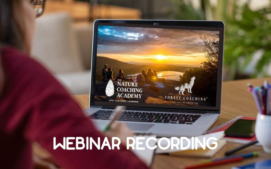The Nature Coaching Academy: introductory webinar recording