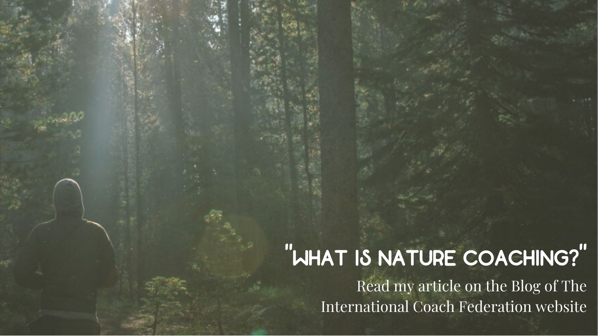 what is nature coaching - ICF